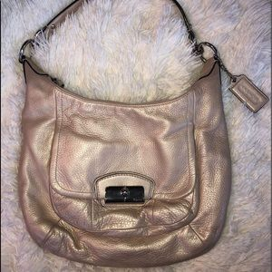 Coach purse opal cream color